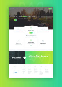 Free Web Interface for Insurance Company.