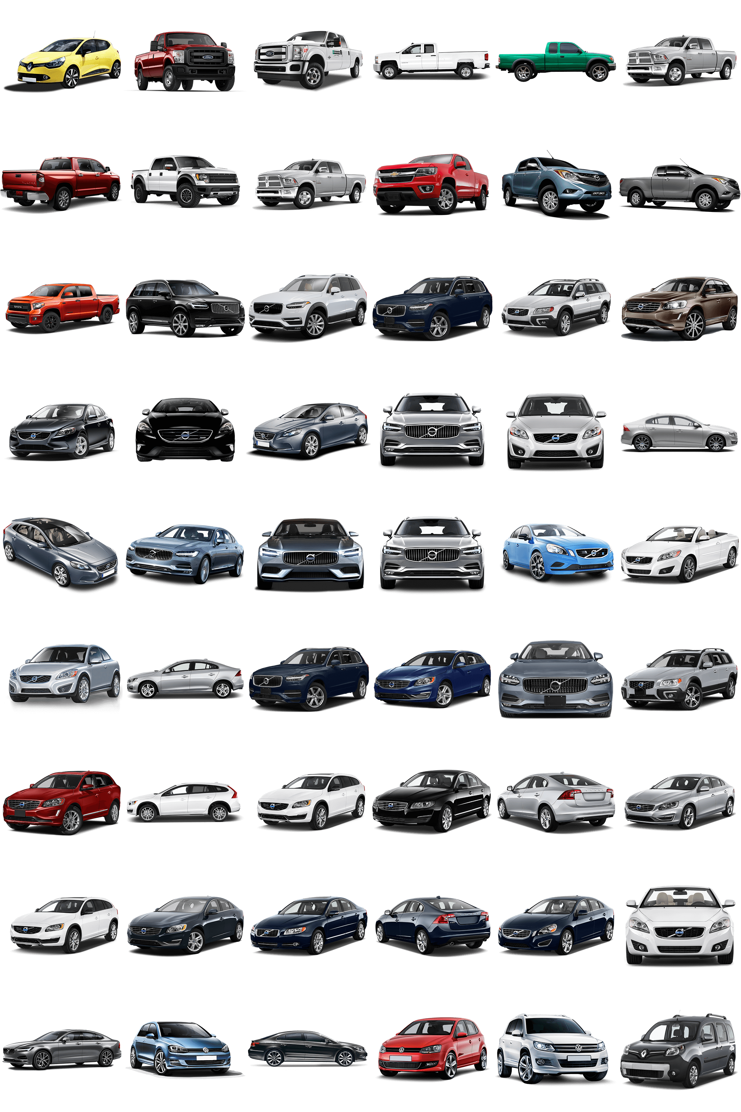 Vehicle Pictures in PNG Format