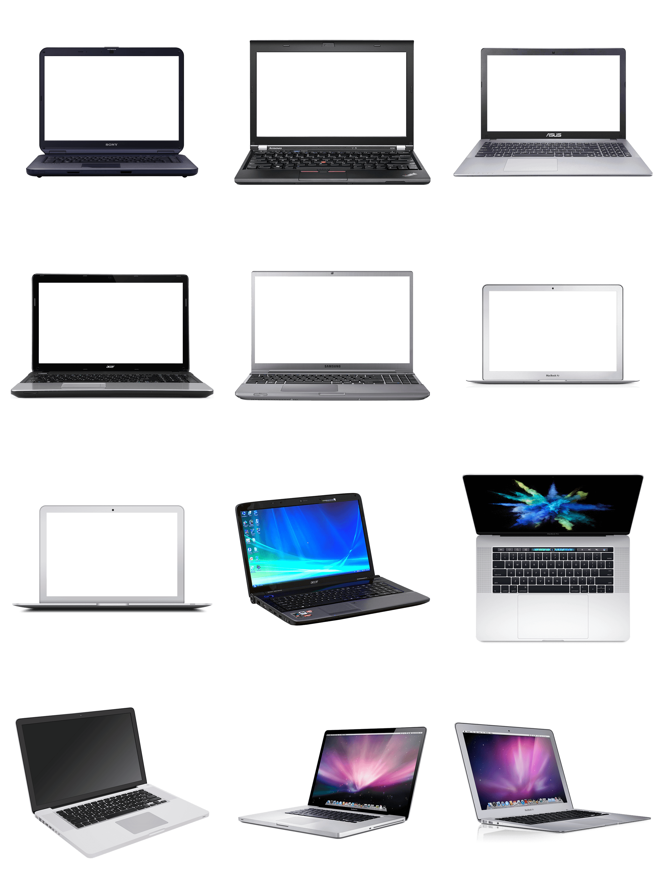 Laptop in PNG Transparent